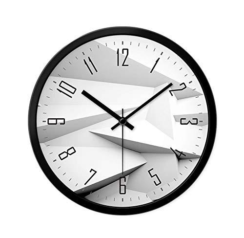 Tafel houlian winkel Muur Klok, Niet Tik Muur Klok Stille Wandklok Digitale Huisklok Woonkamer Persoonlijkheid Creatieve Slaapkamer Wandklok 35cm #1