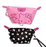 Kerr's Choice Cosmetic Bag Makeup Bag Kitty Cat Toiletry Bag Makeup Pouch Kitty Gift