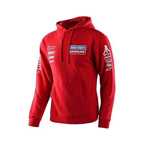 Troy Lee Designs Men's TLD Gasgas Team Sweatshirts,2X-Large,Red