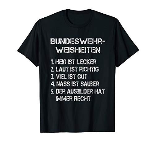 Bundeswehrsprüche T-Shirt