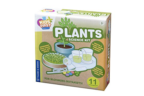 Thames & Kosmos Thames and Kosmos 606115 Kids First: Plants, Experiment with Leaves,Seeds and Roots, Science Kit, Ages 5+