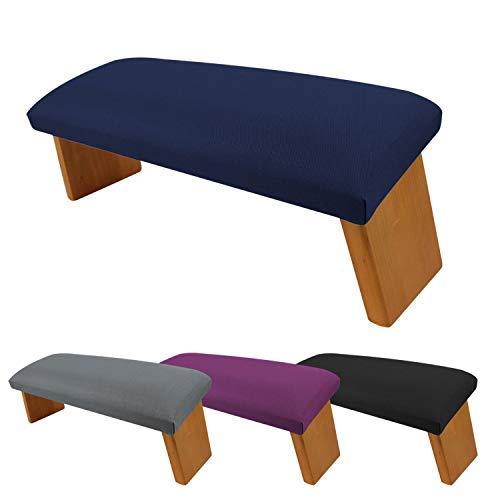Vivezen ® Banc, tabouret de méditation, yoga pliant en bois - 4 coloris - Norme CE