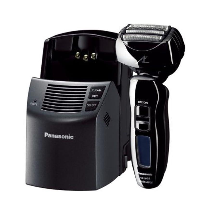 先入観評価可能集団Panasonic ラムダッシュ 黒 ES-LA92-K