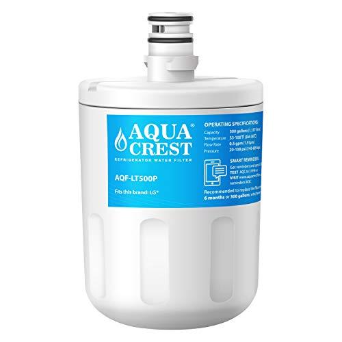 AQUACREST LT500P Filtro de agua del refrigerador, compatible con LG LT500P, 5231JA2002A, ADQ72910901, ADQ72910902, GEN11042FR-08, GEN11042F-08