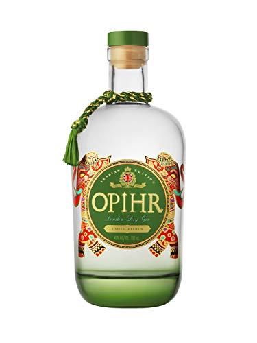 Opihr Arabian Edition (2 of 3) London Dry Gin - ungewohnt frisch dank schwarzer Zitronen - intensiver und sehr würziger Premium Gin, inspiriert von der antiken Gewürzstraße Gin, (1 x 0.7l)