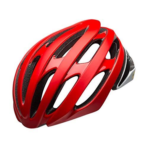 BELL Stratus Rennhelm, matt/glänzend rot/schwarz, L 58-62cm