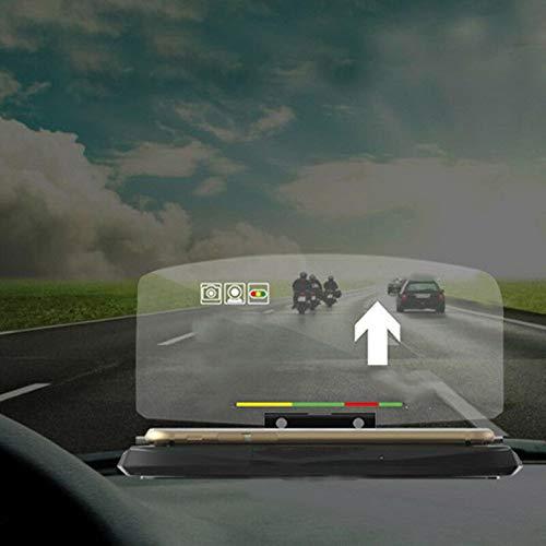 BLILI GPS Heads Up Display HUD, Universal Smartphone Car GPS Holder Mount Navigation Bracket Universal