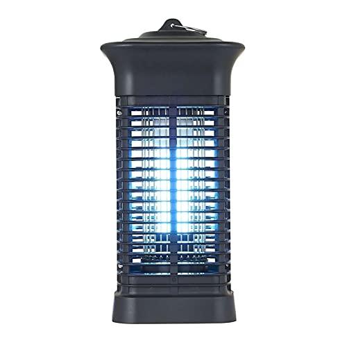 Pinzheng Impermeable Al Aire Libre Interior Cuelga de la Mosca eléctrica Insecto Mosquito Lámpara Repelente Mosquitero UV Luz de Plagas Luz de Control