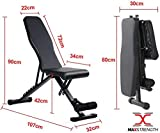 Zoom IMG-2 max strength fitness panca regolabile