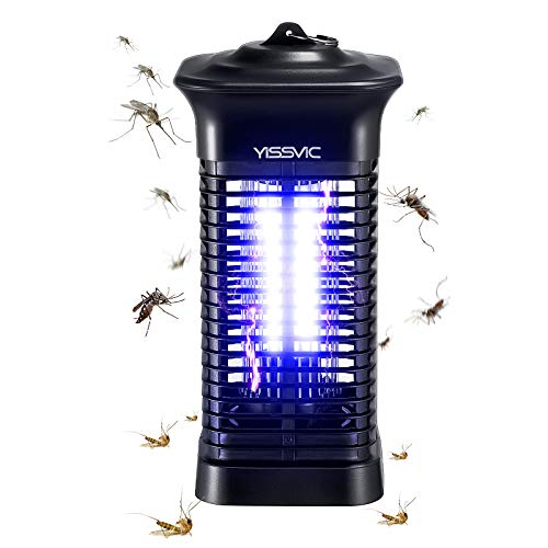 YISSVIC Bug Zapper Outdoor Indoor Waterproof Electric Mosquito Zapper Use Effective 4000V for Home Patio Office Courtyard