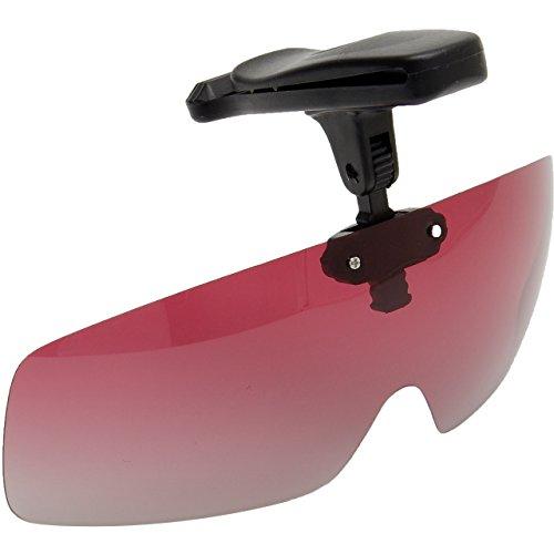 GoodsLand 【 帽子 に 取り付けるだけ 】 キャップ クリップサングラス 偏光 偏光レンズ 偏光調光 跳ね上げ式 紫外線カット UVカット 釣り 眼鏡 メンズ レディース 男女兼用 おしゃれ キャンプ ソロキャンプ 用品 GD-CAPGRASS-