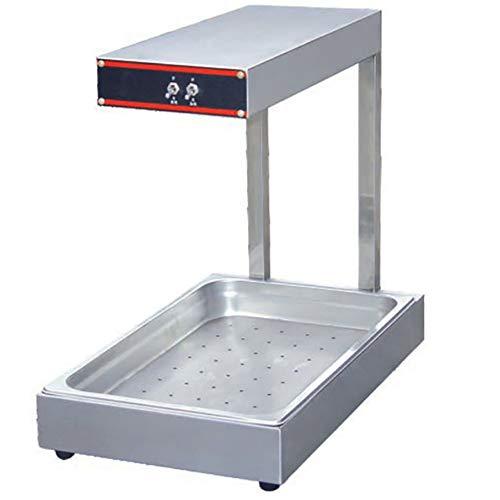 Buffet Heat Lamp Electric Food Insulation Lamp Fries Hamburger Warmer Insulation Cutting Processing Table