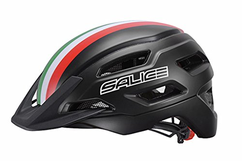 Salice fietshelm XL maat 54-60 zwart Italië, unisex volwassenen