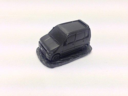 Daihasu Move ref53 - Modelo de coche a escala 1:92, hecho a mano en Sheffield, color negro