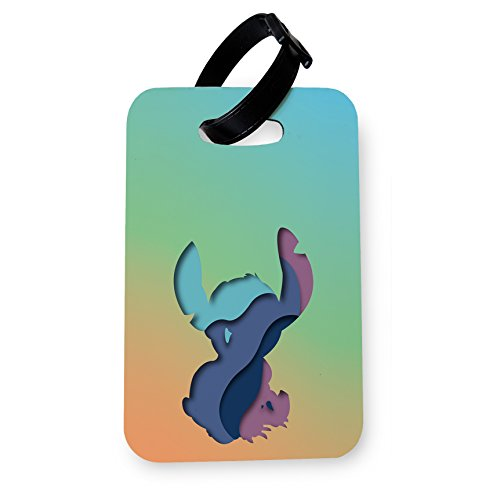 WTF | Disney Paper Cutouts – Stitch Ohana | Printed Art Luggage Tag