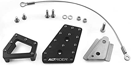 AltRider R113-2-2532-V2 Black Dual Control Brake System for BMW R 1200 & R 1250 GS Water Cooled