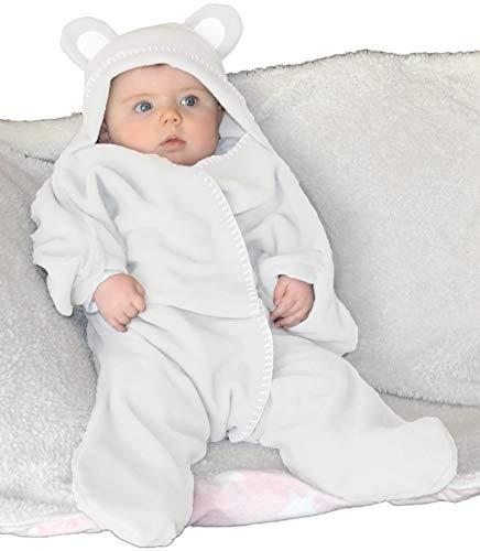 Babydeken wikkeldeken in luxe geschenkdoos van BABY BLISS ®️   Baby Wikkeldeken voor baby's en peuters 2 - 12 maanden   Unisex   Super zacht en warm   Ideaal voor gebruik thuis en in kinderwagens autostoelen en reizen   No.1 in de UK   Het perfecte cadeau voor 2020!