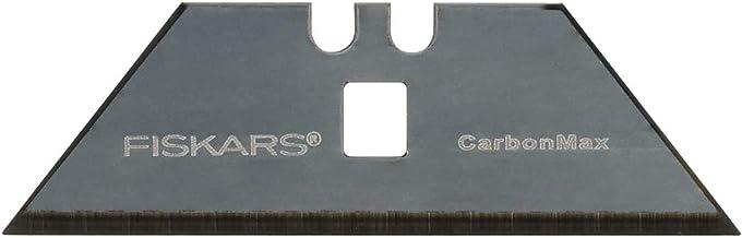 Fiskars CarbonMax universalknivsblad 50 pack, reservblad för flera Fiskars universalknivar, blad av rostfritt stål, 1027231
