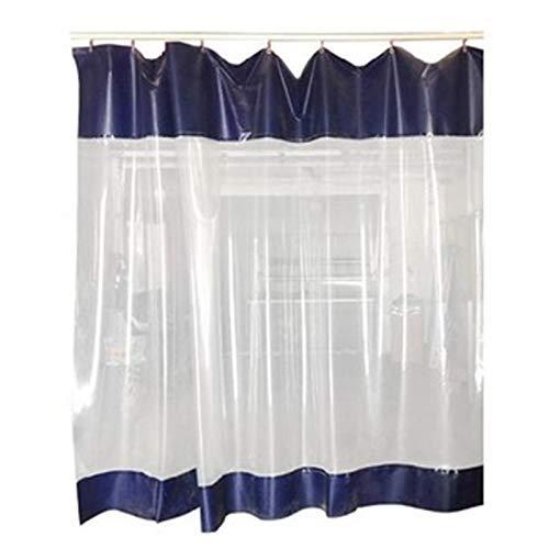 Pared Lateral Transparente Lona Cortina de Puerta de Garaje, Lona con Ojales, Granja de La Fábrica Dividir Refugio de Vehículos de Camping, PVC Impermeable (Size : 4×4m(13×13ft))