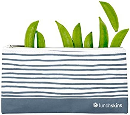 Lunchskins Reusable Zippered Snack Bag Snack Bag Blue Geometric