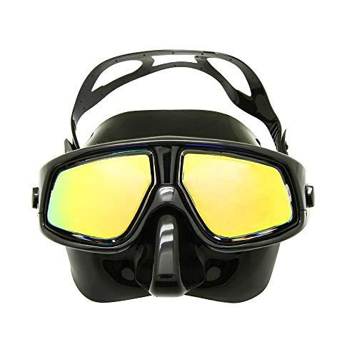 EnzoDate Optische Tauchausrüstung Hyperopia Myopia Schnorchel Set Dry Top Tauchermaske Weitsicht Anti-Fog UV400