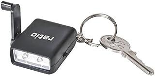 Ratio 5495H - Mini linterna de doble LED con dinamo y llavero Ratio