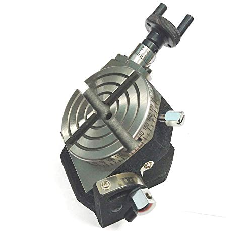 """3"""" Inch (75 mm) Quality Tilting Rotary Table for Milling Machines Precision Quality Rotary,Milling,Indexing machine Table Milling Vice Vise"""