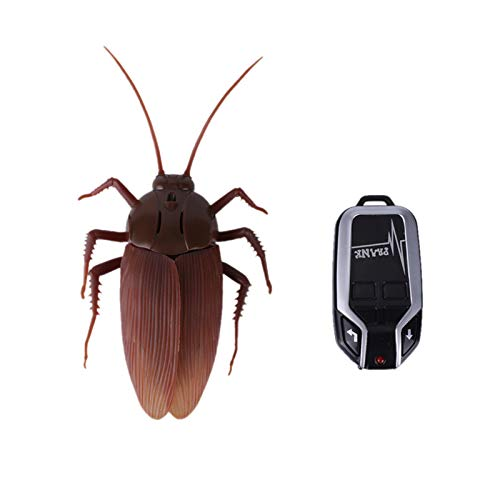【Upgraded Version】 Greatstar Infrared Remote Control Realistic Fake Cockroach RC Prank Toy...