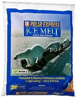Polar Express Blended Ice Melt 20 lb. Granule and Flake