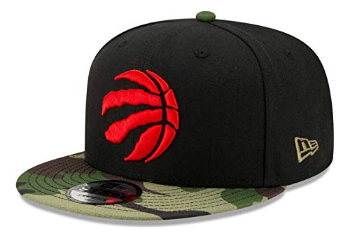 New Era - Gorra NBA Toronto Raptors All Star Game Camo 9Fifty Snapback - Negro Negro Talla única
