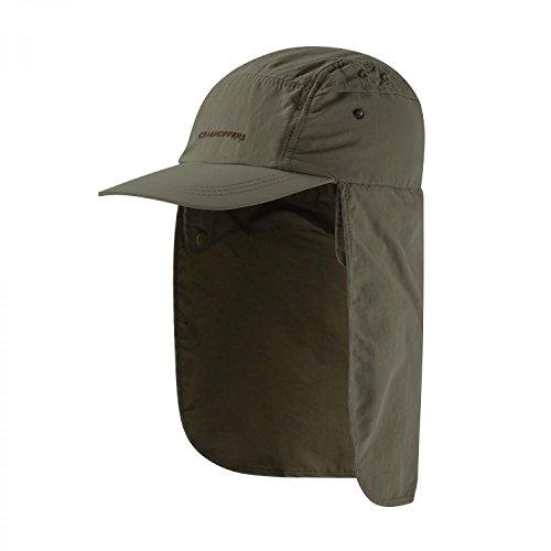 Craghoppers Kids Desert HUT Grün, Daunen Cap und Hüte, Größe 6-8 Jahre - Farbe Dark Khaki