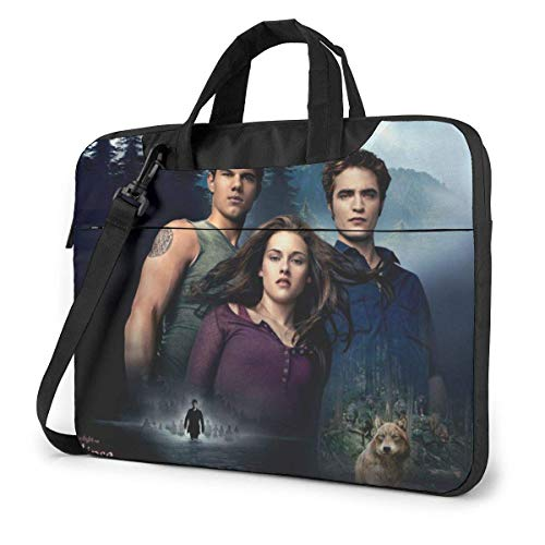15.6 inch Laptop Shoulder Briefcase Messenger TWI-Light Sa-Ga Tablet Bussiness Carrying Handbag Case Sleeve