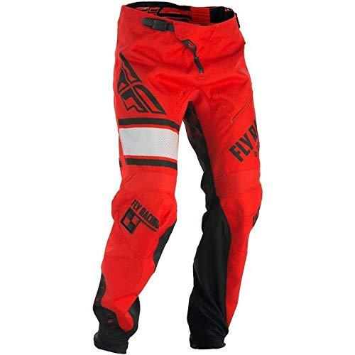 Fly Racing - Fahrradhosen für Jungen in Rot, Größe 22