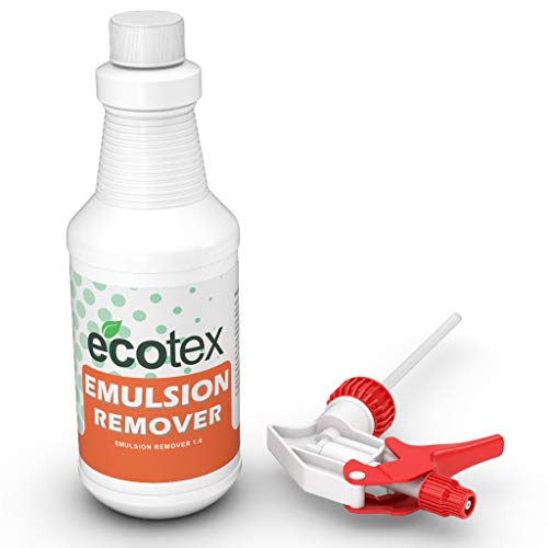 Ecotex Emulsion Remover Economical Powerful Stripper for Use in Industrial DIY Screen Printing Environment Pint