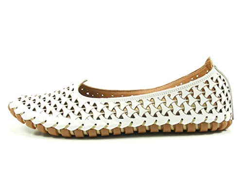 Gemini Damen Slipper 031200-02 001 weiß 273580
