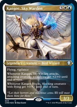 Kangee, Sky Warden - Foil Etched