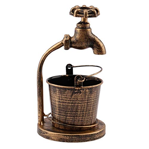 Kepfire創造的鍛造鉄蛇口灰皿レトロスタイルタバコ携帯用灰皿屋内居間ホテルバーコーヒーショップアウトドア飾り