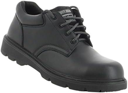 SAFETY JOGGER X1110 Men Safety Toe Lightweight EH PR Water Resistant Shoe, M 9, Black