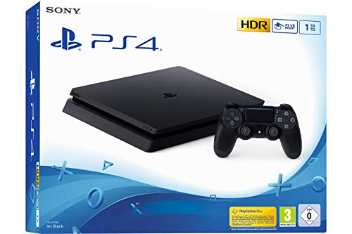 Sony PS4 Slim 1TB Negro 1000 GB Wifi - Videoconsolas (PlayStation 4, Negro, 8192 MB, GDDR5, GDDR5, AMD Jaguar)