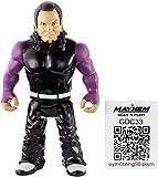 WWE Retro Aplicación Jeff Hardy Figura Serie 8 4.5 ' Lucha Libre Mattel Figura