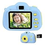 キッズカメラ 子供用カメラ 前後カメラ 自撮り 800万画素 2.0インチ 多機能 USB充電 8GB SDカード付き 子供の日 誕生日 子供のおもちゃ 子供プレゼント 知育 教育 男女兼用