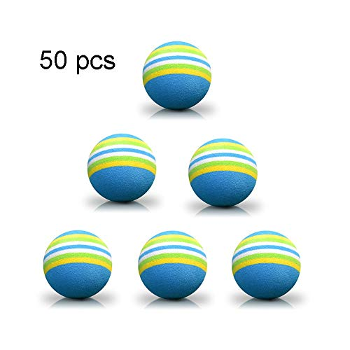 Learn More About 50pcs/100pcs Golf Balls Pro V1 Sponge Golf Ball Golf Indoor Practice Soft Balls Pra...