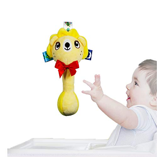 Nourrisson Saisissant Grab Rattle, bébé Poignée de maintien Rattle Shaker, développement de l'éducation musicale Gift, Baby Grip Rattle