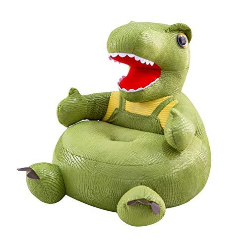 Bueuwe Kindersessel Kindersofa Minisofa Kindermöbel Sessel Sofa Faule Couch (Dinosaurier),Grün