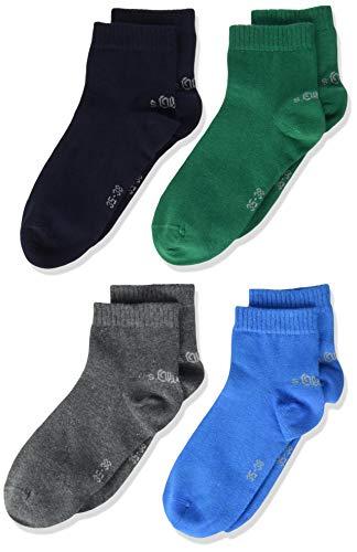 s.Oliver Socks Jungen S21010 Socken, Türkis (Blue Aster 6295), 23-26 (Herstellergröße: 23/26) (9er Pack)