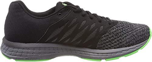 Asics Gel-Exalt 4, Zapatillas de Entrenamiento para Hombre, Negro (Black/Carbon/Green Gecko 9097), 42 EU