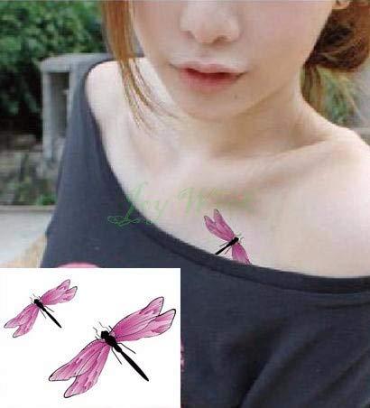8 Stück Wasserdichter Temporärer Tattoo-Aufkleber Auf Ohr Finger Musik Note Vogel Sterne Linie Streifen Tattoo