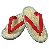 ミサトっ子草履で足を改善<赤>23cm