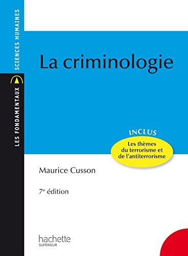 La criminologie (Les Fondamentaux)