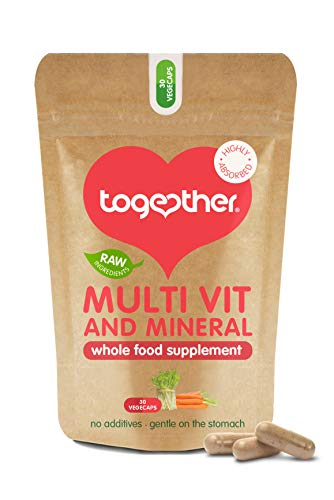 Together Whole Food Complex Multivitamin & Mineral 30 Kapseln, 1er Pack (1 x 200 g)